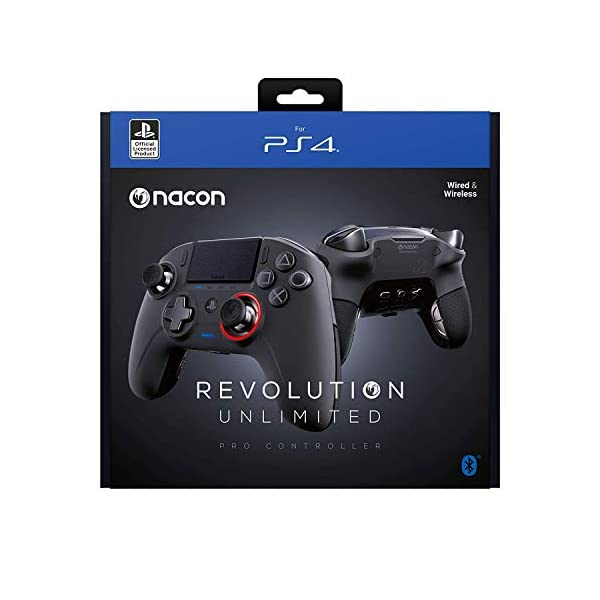 NACON Revolution Unlimited Pro V3 Playstation 4 Wireless Controller & Sony Playstation Gold Wireless Headset 7.1 Gaming… 2