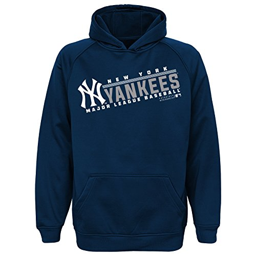 MLB Youth 8-20 Yankees performance hood, Xl(18), Athletic Navy