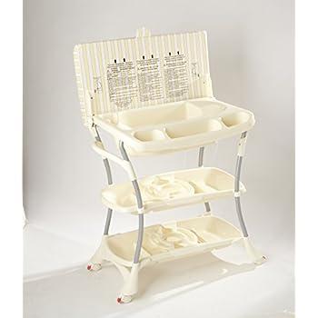 Image of Primo EuroSpa Bath and Changing Center, Honey/Cream Baby