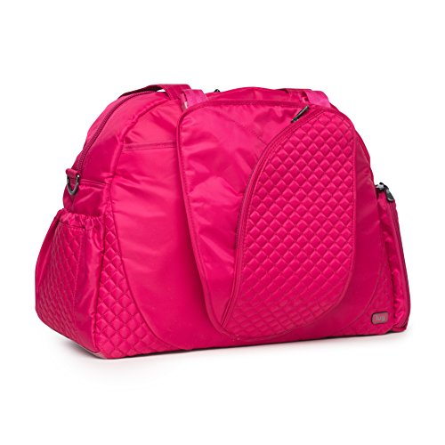 Lug Cartwheel Fitness/Overnight Bag, Rose Pink