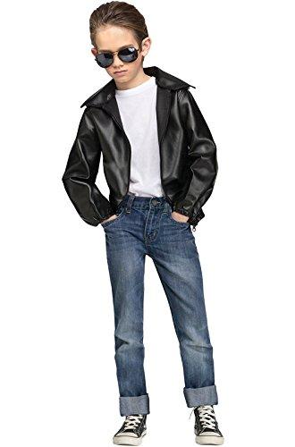 [T-Bird Gang Jacket Kids Costume] (Best 50s Costumes)