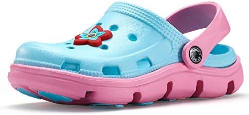 Perfect Meet Kids Cute Clog Cartoon Slide Sandals Garden/Lightweight Slippers Non-Slip Beach Pool Shower Shoes