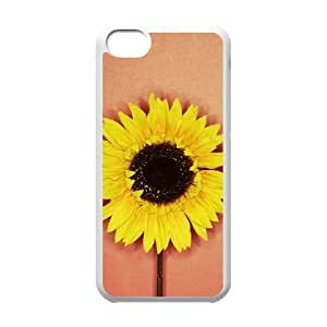 SFBFDGR flowers Unique Design Cover Case with Hard Shell Protection for iphone 5c Case lxa#877145