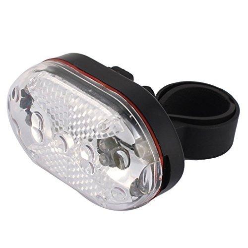 eDealMax LED vlo Plastique vlo clignotant arrire Avertissement de scurit Feu arrire Lampe colore