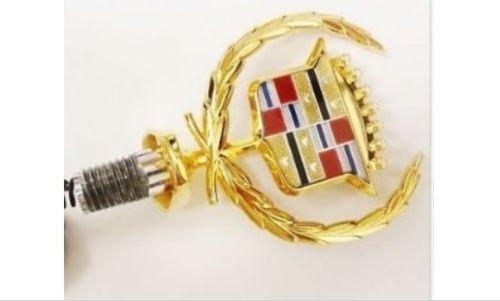Gold Hood Ornament (CADILLAC BROUGHAM GOLD HOOD ORNAMENT)