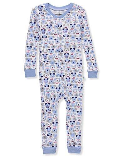 Duck Duck Goose Little Boys' Toddler 1-Piece Pajamas - Light Blue, 2t -