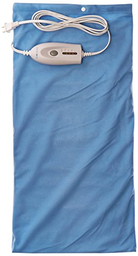 Pca Cover - Bluestone King Size Moist/Dry Heating Pad, 12Inch x 24Inch, Blue, 1.65 Pound