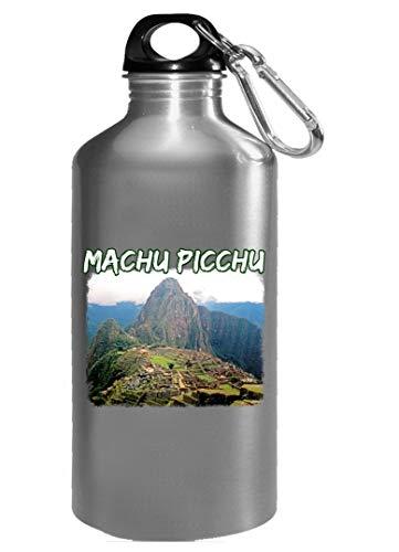 (Machu Picchu Peru Climb Gift - Huayna Picchu Mountain Art - Water Bottle)