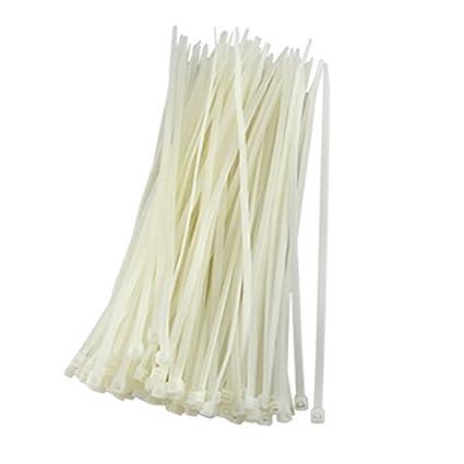 Amazon.com: eDealMax 9,7 pulgadas de plástico del Cable relámpago del alambre del Lazo de sujetadores 100 Piezas: Electronics