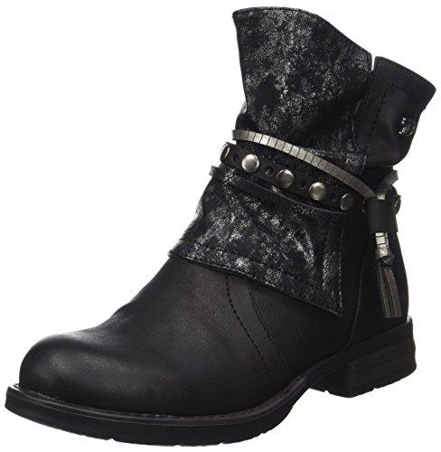 Tom Tailor 3795612, Women's Biker Boots Black (Black)