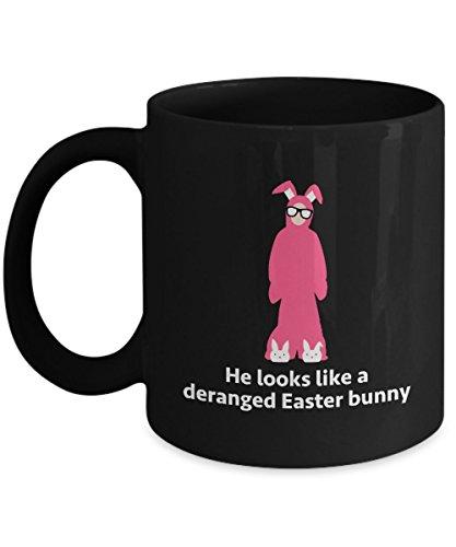 Christmas Story Ralphie Bunny Costume Funny Gift Mug Movie Quote Coffee Cup]()