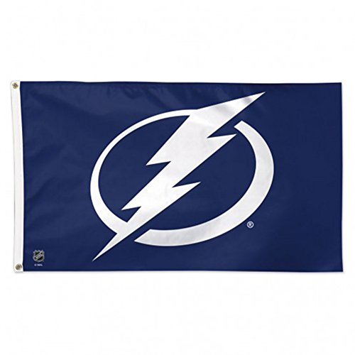 - WinCraft NHL Tampa Bay Lightning Deluxe Flag, 3' x 5'