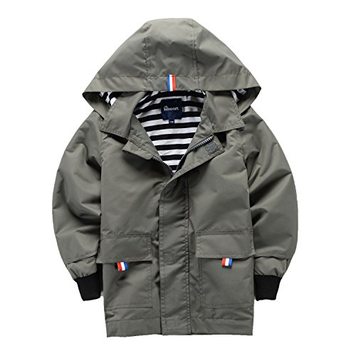 waterproof hooded jacket - 1
