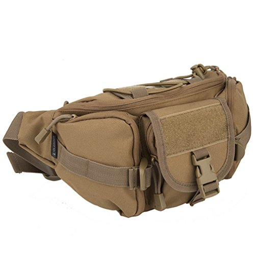 Fine Jewelry New 1000d Durable Nylon Men Water Bottle Waist Pack Travel Military Molle Hip Bum Fanny Belt Pack Small Kettle Bags Quell Summer Thirst