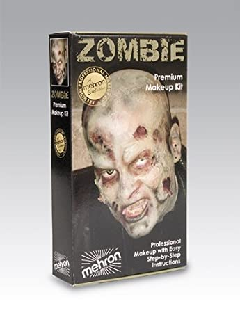 Mehron Professional Special Effects FX Zombie Make-up Kit ...