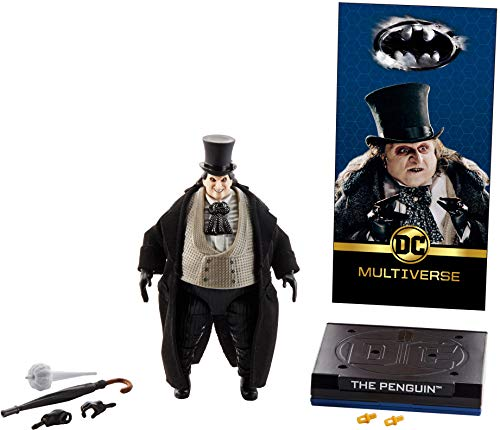 Batman Penguin (DC Comics Multiverse Signature Collection Batman Returns The Penguin Figure)
