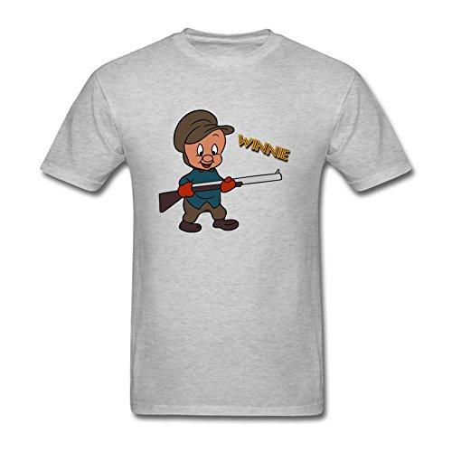 tommery-mens-elmer-fudd-vector-short-cotton-t-shirt