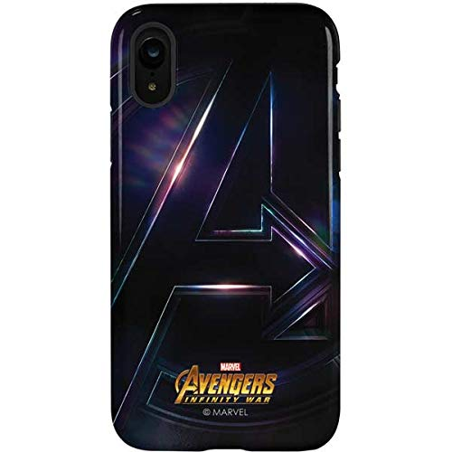 buy popular ed063 e90c8 Amazon.com: Avengers iPhone XR Case - Marvel/Disney | Skinit Pro ...