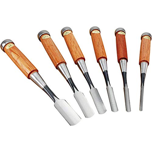Grizzly Industrial G7957 - Japanese Gouge - Set of 6