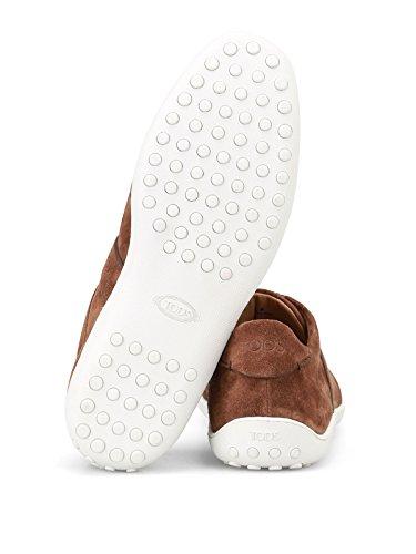 Active Uomo Marrone Sneaker Tod's Suede Tod's 08A Sneaker in qAt6WBn