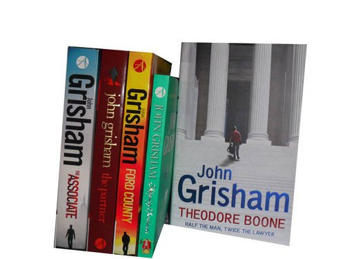 John Grisham Collection: Skipping Christmas: Christmas with the Kranks, Ford County Stories, the Partner, the Associate & (hardcover) Theodore Boone (Book With Christmas The Kranks)