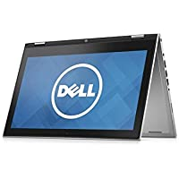 "2015 Newest Model Dell Inspiron 7000 13.3"" Convertible 2-in-1 Tablet & Laptop Latest Intel 5th G. Core i5-5200U 8GB DDR3L Memory 500GB HDD USB 3.0 Bluetooth Windows 8.1 (Free Upgrade to Win 10) Silver"