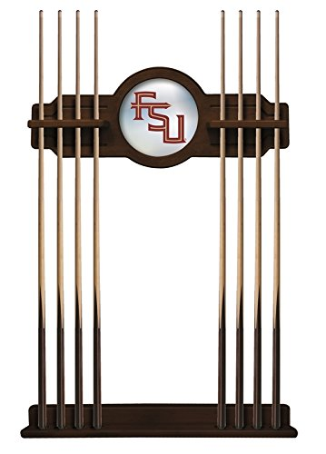 Florida State (Script) Cue Rack in Navajo Finish by Holland Bar Stool Co.