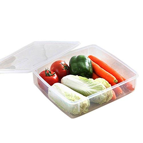 Sealed Crisper (NEAER Refrigerator Storage Box,Fruit and Vegetable Sealed Box,Food Storage Box,Large Capacity Crisper,Drain Basket)