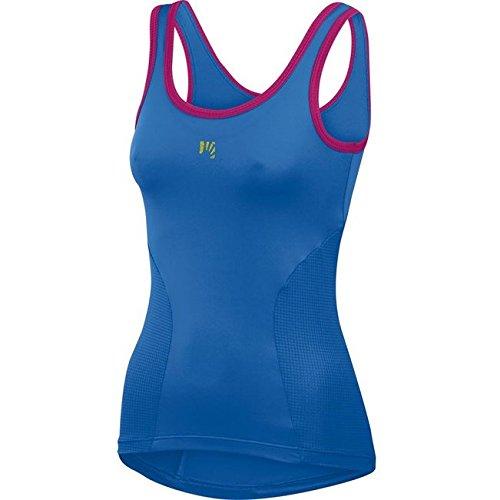 TOP Karpos RISE Camiseta Para Mujer azul