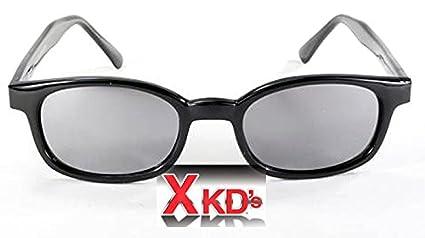 e82367ede1 Amazon.com  X-KD s Unisex-Adult Biker sunglasses Silver Smoked One ...