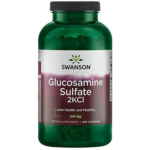 Swanson Glucosamine Sulfate 2Kcl 500 Milligrams 400 Capsules