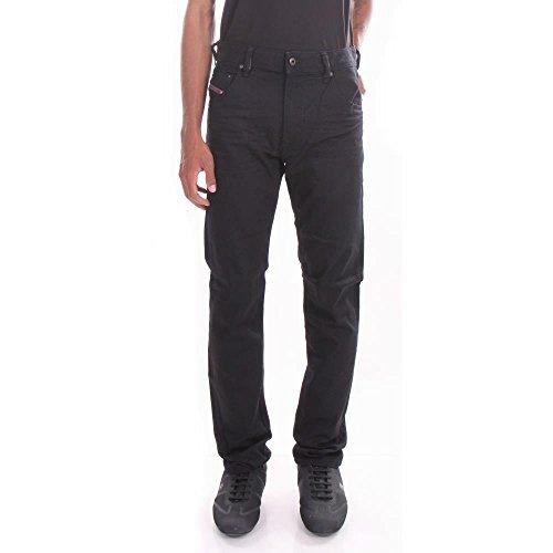 Diesel Black Jeans - Diesel Krayver 0RF84 Slim Carrot Jeans 30/32 Black Men
