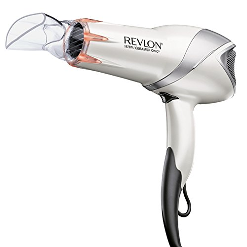 - Revlon 1875W Infrared Hair Dryer for Faster Drying & Maximum Shine
