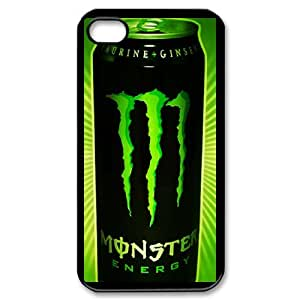 Monster Energy For iPhone 4,4S Phone Case & Custom Phone Case Cover R81A650478