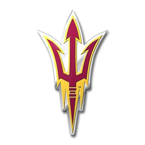 NCAA Arizona State Sun Devils Die Cut Color Automobile (Arizona State University Colors)
