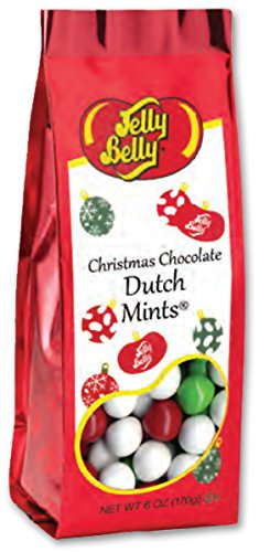 nts 6 Oz Christmas Bag Perfect Stocking Stuffer (Jelly Belly Mint)
