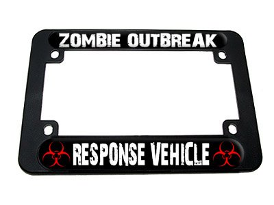 license plate frame biohazard - 4