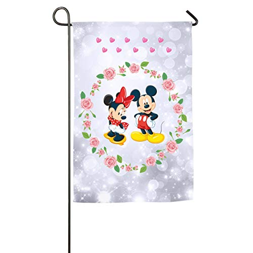 - Sakanpo Minnie and Mickey. Home Family Party Flag 100 Hipster Welcomes The Banner Garden Flags