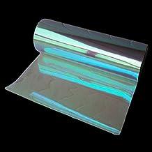 "12""x84"" DIY Fashion Shiny Chameleon Auto Car Styling headlights Taillights Translucent film lights Turned Change Color (Transparent)"