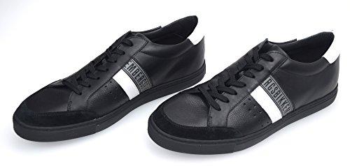 hombre L M Bikkembergs de deporte 514 zapatillas Nero Shoe para Leather Capsule Soccer gwfqfxtPB