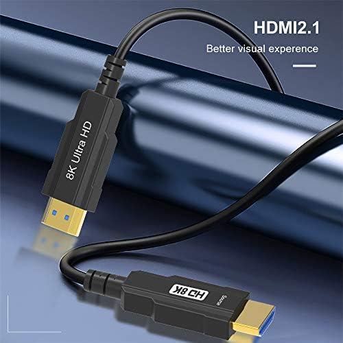Yiwentec Hdmi2 1 2 0a 2 0b Glasfaser Aktiv Kabel Real Elektronik