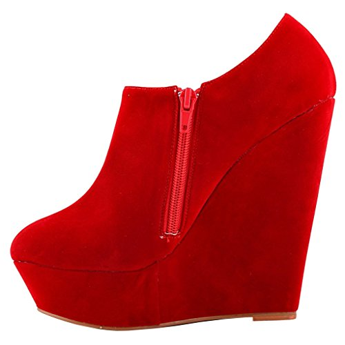 EKS - botas clásicas Mujer Rojo