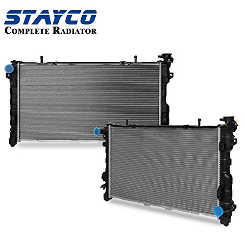 Voyager Chrysler Radiator - STAYCO Radiator Replacement 32mm Core for Chrysler Dodge fit Town/Country Voyager Caravan 3.3 3.8