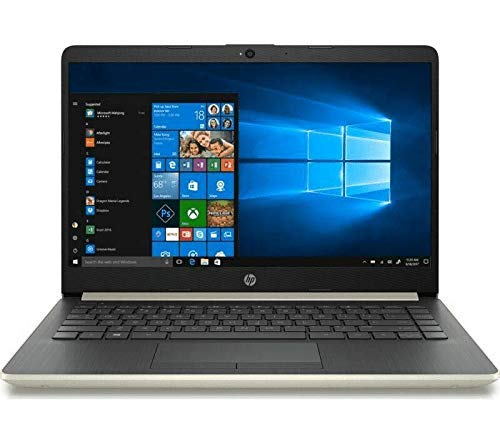 HP 14-CF0500SA 14 inches Laptop – Intel Pentium 4417U 2.3 GHz 4 GB / 128 SSD – Gold (Renewed)