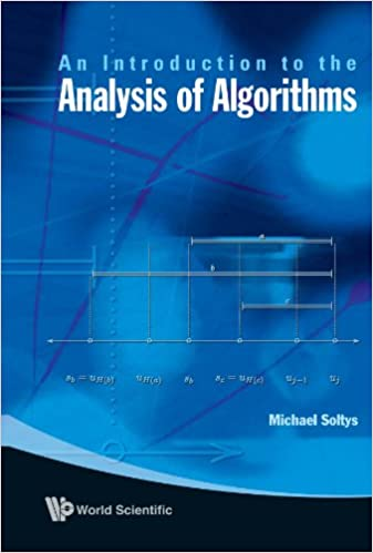 An Introduction To The Analysis Of Algorithms Soltys Michael
