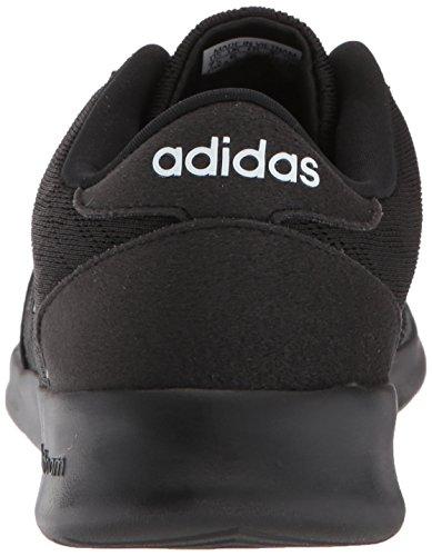 Adidas Kvinners Cf Qt Racer W Joggesko Kjerne Svart, Kjerne Svart, Hvit