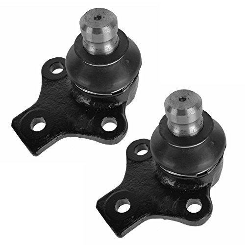 Ball Joints Front Lower Left & Right Pair Set for VW Cabrio Golf ()