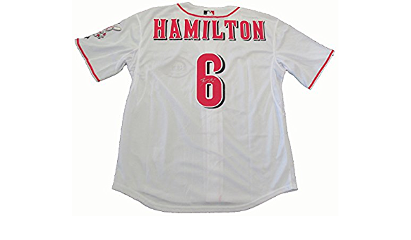 Billy Hamilton Autographed Cincinnati Reds Jersey W/PROOF ...