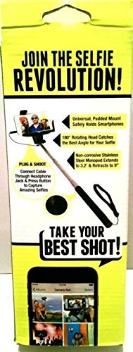 Plug & Shoot Selfie Stick Photo & Video