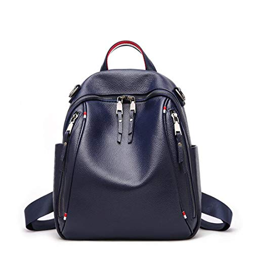 Blu antifurto Borsa Blu a impermeabile in tracolla CarryeyukiCarrie Zaino pelle Women scuola leggero Borsa Zaino Colore wFxnwHTq